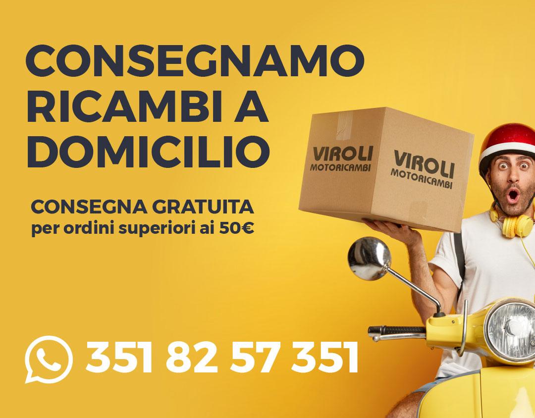 Consegna domicilio Viroli motoricambi virolimotoricambi moto ricambi mobile